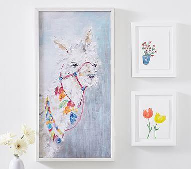 Llama Printed Art #pbkids