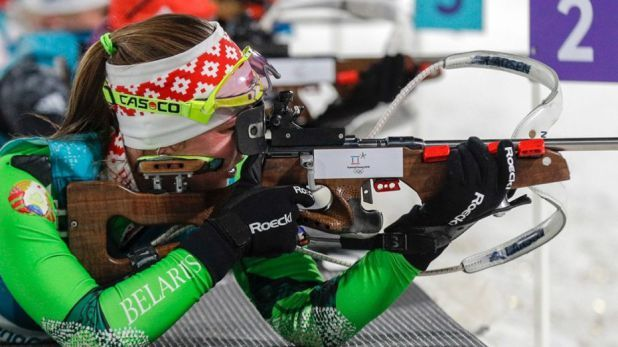 Belarus Olympic biathlete Darya Domracheva  an ex-KGB agent  is a renaissance woman