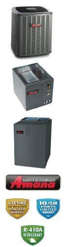 3 Ton 16 Seer Amana Heat Pump System - ASZC160361 - CAPF3743C6 - MBVC1600AA-1 - TX3N4 by Amana. $3129.00. Amana 2 Stage Communicating Heat Pump with Variable Speed Blower (R-410A)