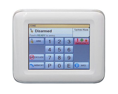 Ness - iCentral Navigator Home Alarm Touch Keypad