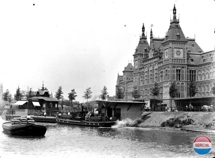 Station Amsterdam (jaartal: Voor 1900) - Foto's SERC