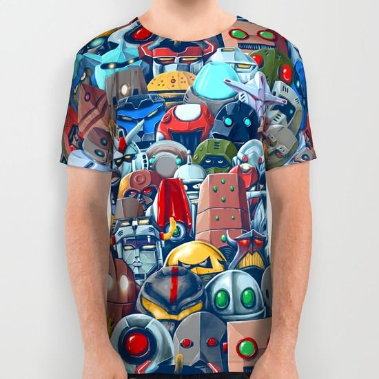 available as all over print shirt and more  buy here http://society6.com/product/robolutions_all-over-print-shirt#57=422