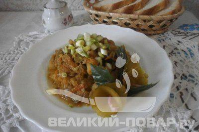 Овощное рагу http://www.great-cook.ru/1010-ovoschnoe-ragu.html   Одним из диетических блюд можно считать Овощное рагу. Все овощи слегка обжаривают в небольшом количестве жира, соединяют и тушат на медленном огне до готовности. Тепловая обработка продуктов, способствует лучшему усвоению пищи. Овощи используют в зависимости от сезона. Можно использовать замороженные овощи. При желании в рагу, можно добавить мясо. Это довольно трудоемкое блюдо. Все овощи нужно: обчистить, нарезать, обжарить и…