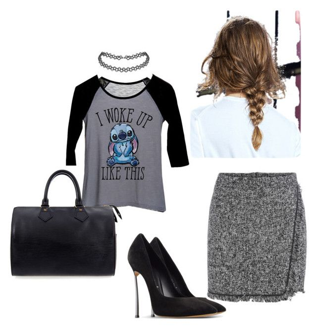 """""""In Rush"""" by thisismedika on Polyvore featuring dELiA*s, Casadei and Louis Vuitton"""