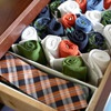 Internal Organization  Keep the internal parts of your closet, such as drawers and cabinets, orderly with expandable organizers, which corral underwear, ties, and socks.  Source: http://www.bhg.com/decorating/closets/walk-in/walk-in-closet/#