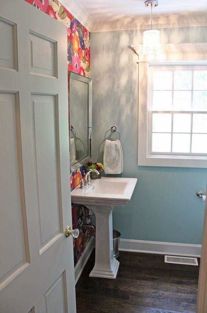 Same Home Adorable Powder Room Inspiration House Of