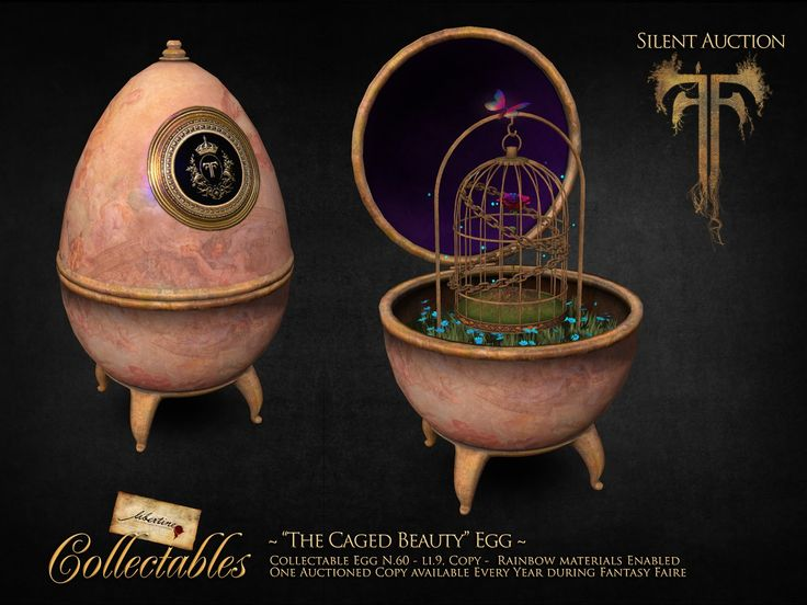 The Caged Beauty Egg