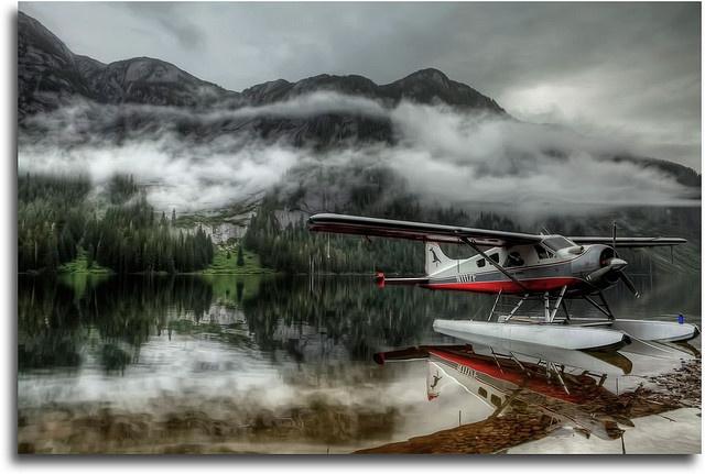 Float plane trip into Misty Fjords, Alaska. Fantastic wildlife viewing, amazing destination.