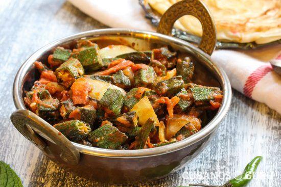 Receta: quimbombó a la habanera #Culinaria #AmorporLaHabana #comidascubanas #quimbombó #receta