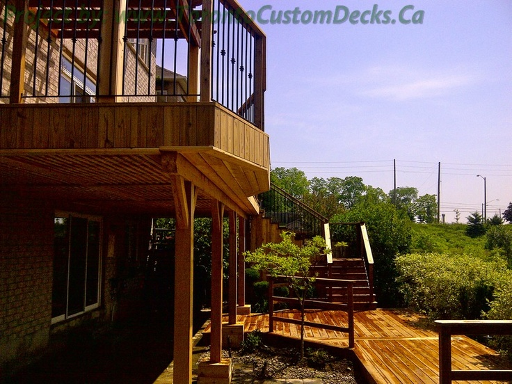 1000 Images About 2 Level Deck On Pinterest Wood Deck