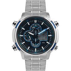 Relógio Masculino Orient Analógico Prata MBSSA045 PDSX