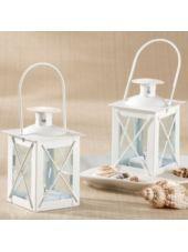 White Mini-Lantern Wedding Favor-Party City