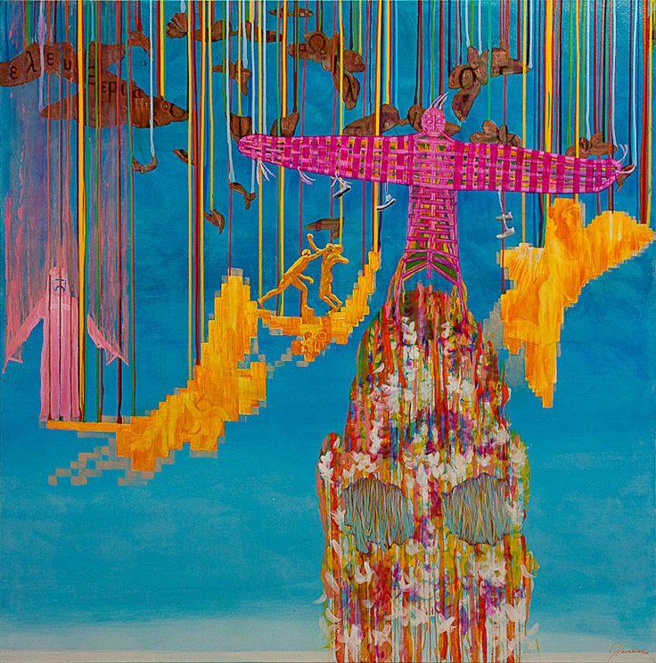 New Zealand Based Artist Jimmy James Kouratoras