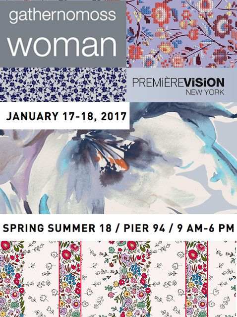See the new women's print collection at Premiere Vision