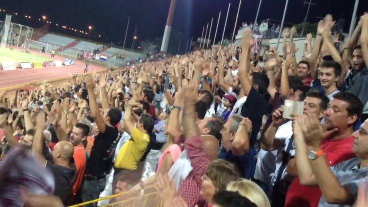 ΑΕΛ-Ολυμπιακός Βόλου 0-1 1-9 2014 Κύπελλο-Χέρια (ΑΕΛ 2014-15 Β΄Εθνική)