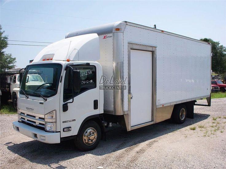 2008 Isuzu Npr Hd Medium Duty Trucks Van Trucks Box