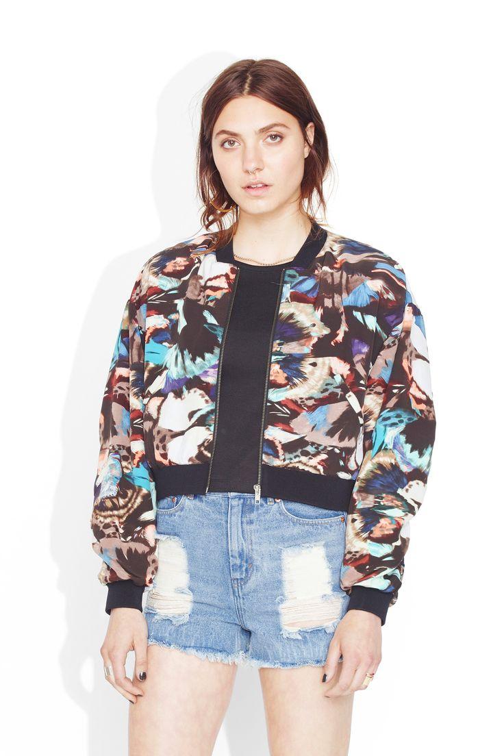 Monki | Sale outerwear | Cloé bomber jacket