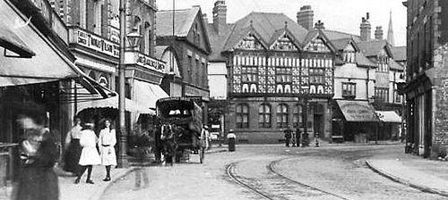 Liverpool - Crosby Village c 1920 by ronramstew, via Flickr
