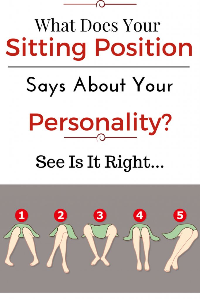 This Is What Your Sitting Position Reveals About Your Personality
