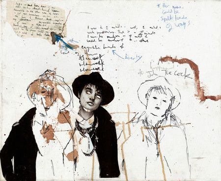 The blood-spattered art of Pete Doherty