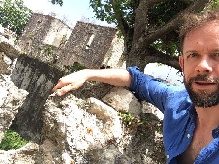 Stokes Hall. Jamaica. Book research. Plantation house, gunslits, slavery.