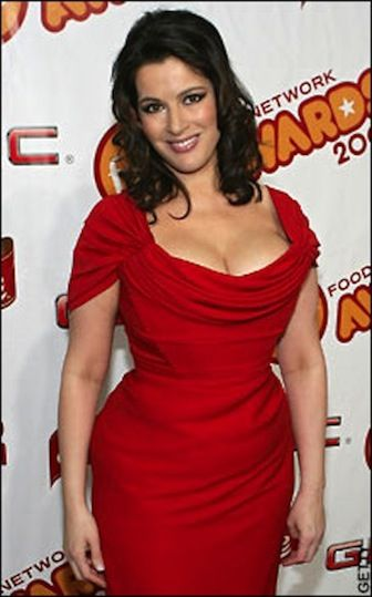 Nigella Lawson, food writer, journalist and TV personality