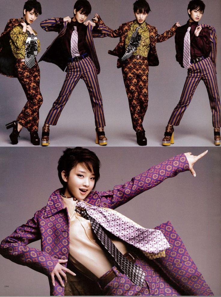 WWD JAPAN 2012 FALL 「Leslie Kee × 剛力彩芽」「SUPER 流行通信」 | Super Sonic