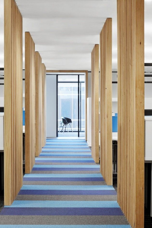 Located in Hawthorn, this wide, open-planned office space and reception occupies 250sqm. The composition of this office space required innov...