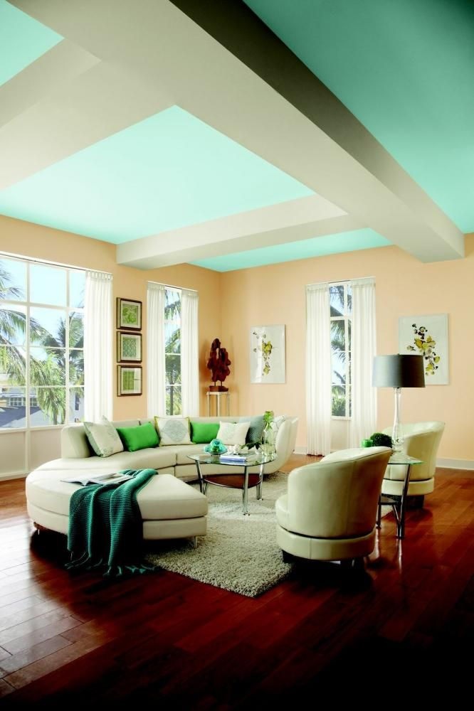 Behr Paints Introduces Their 2014 Paint Colours. We Love This Resort Chic  Look. #
