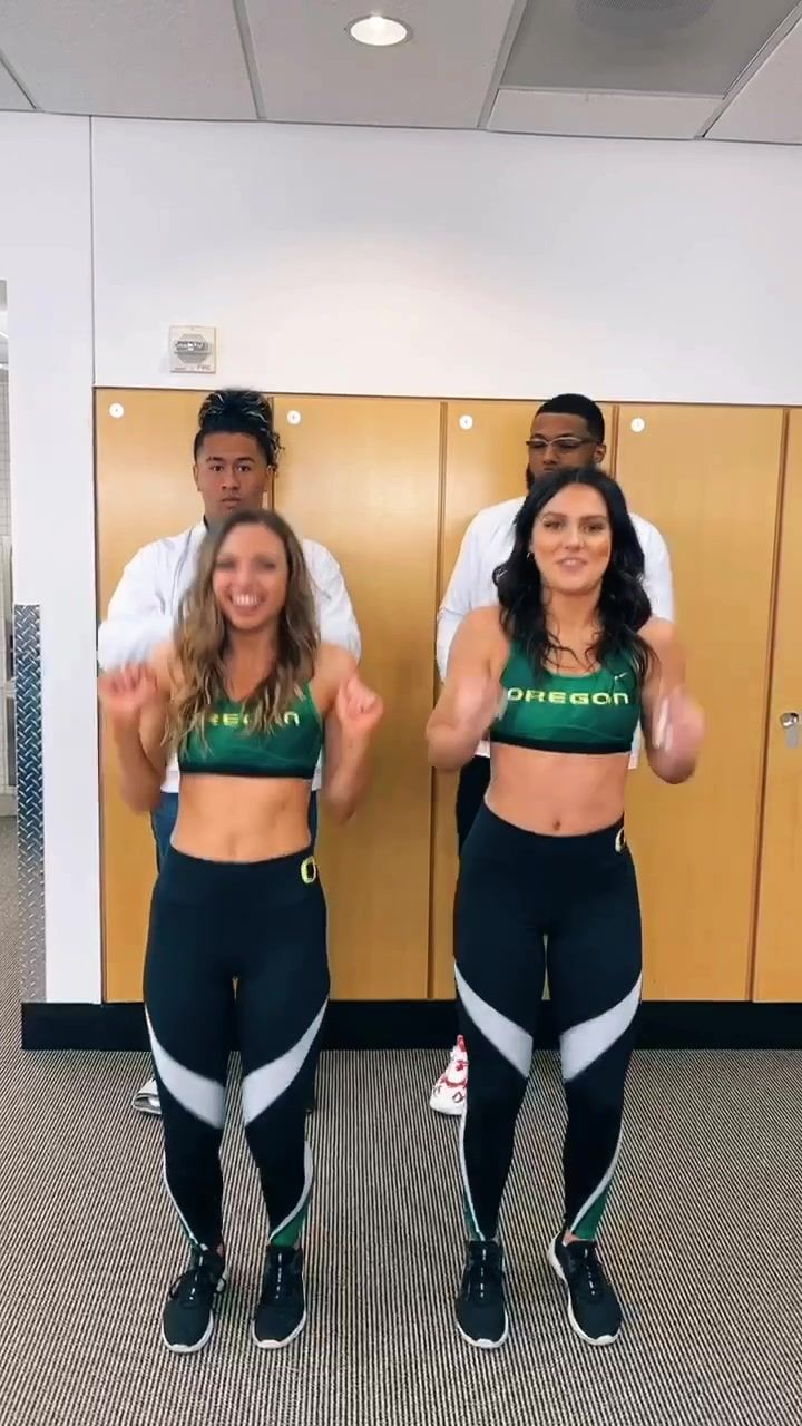 Oregoncheer Oregoncheer Has Created A Short Video On Tiktok With Music Lottery Recruited Some Football Players On Signing Day Oregoncheer Fyp Foryou
