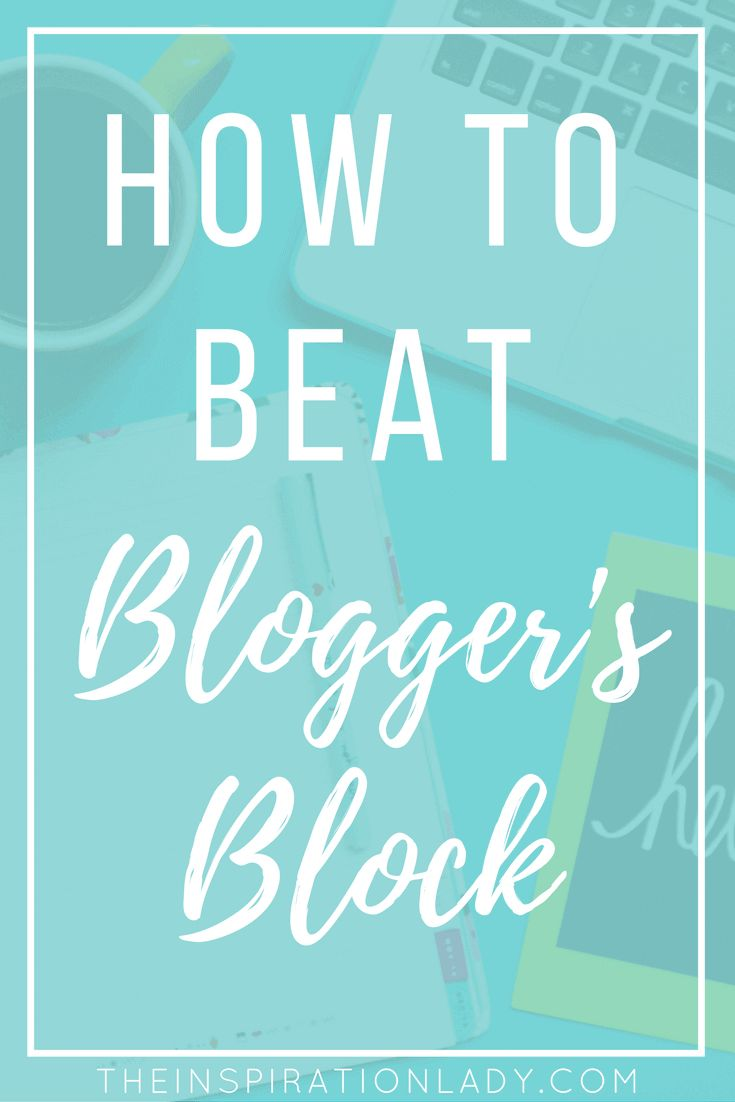 Here are 7 techniques that you can use to combat blogger's block (writer's block)!