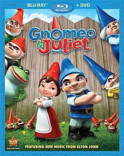 GNOMEO & JULIET (BLU-RAY/DVD/2 DISC COMBO/WS-1.85/ENG-SP SUB) CHILDREN/FAMILY SEE DVD FOR THIS SYNOPSIS genre: CHILDREN/FAMILY media format: Blu-Ray Rating: G