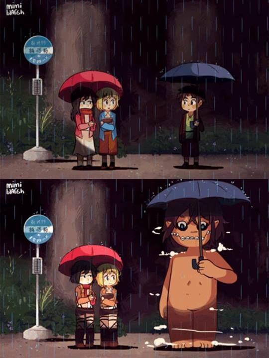 Shingeki no Kyojin Attack on Titan//this looks pretty cute, actually!