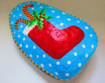 Christmas Painted Rock