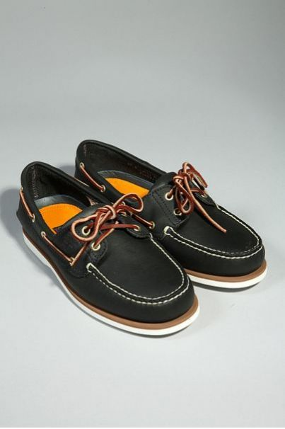 Timberland Navy Boat Shoes!