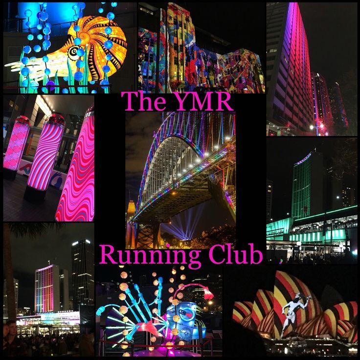 Vivid Sydney YMR Run - an annual YMR Running Club event. #yummymummyrevolution