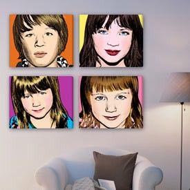 make family photos into pop art: Random Pictures, Decore Remember And Use, Pop Art, Dream, Diy Design, Family Photos, Art Photo
