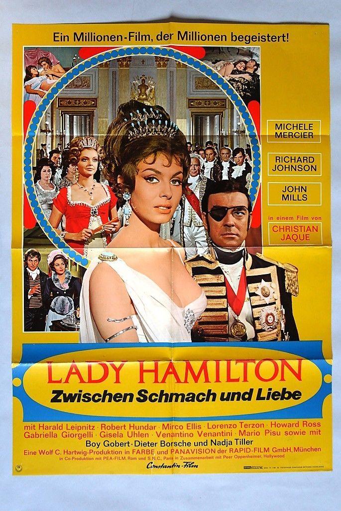 (P41) Kinoplakat Lady Hamilton - Zwischen Schmach und Liebe - 1968 Michèle Merci | eBay