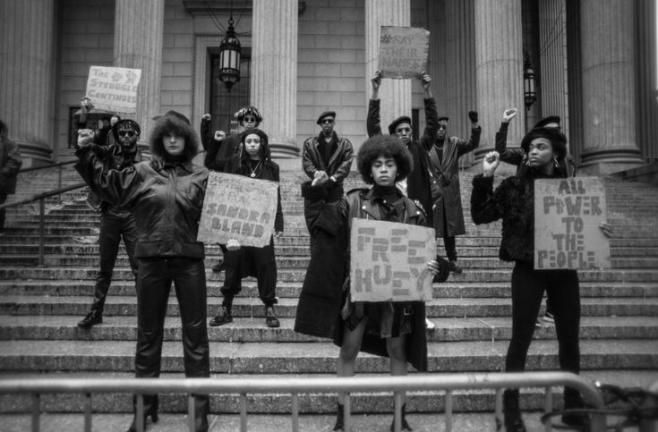 Exclusive: A New Striking Photo Series Inspired By The Black Panthers Encourages People To Regain Their Power