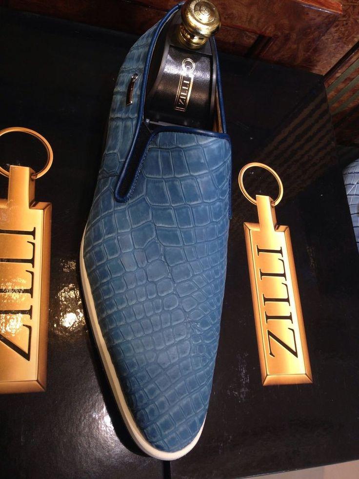 $9950 zilli shoes crocodile %100  collection 2014  size zilli 9  US 10   euro 43 #zilli #snickerscollection100crocodile