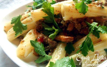 Очень душевная паста с лисичками:) | Кулинарные рецепты от «Едим дома!»
