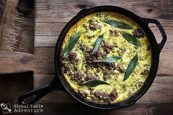 Recipe: South Africa's Bobotie make yellow rice too