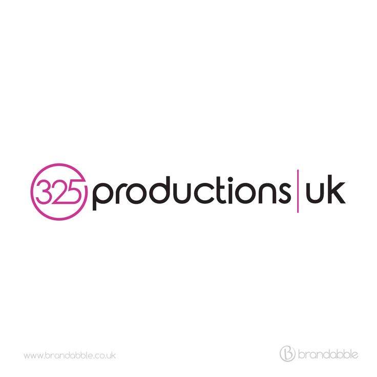 Logo design project for 325 Productions UK. Contact brandabble.co.uk if you would like us to work on a project for you.