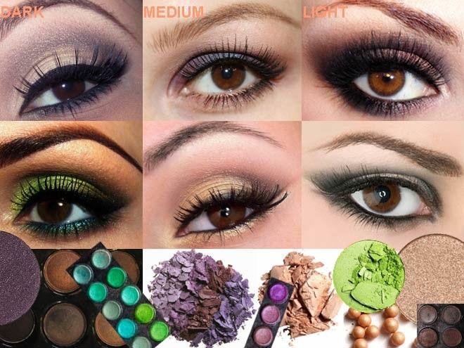 eye makeup application for deep set eyes