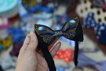 Галстуки, бабочки ручной работы. Ярмарка Мастеров - ручная работа Галстук-бабочка Бабочка. Handmade.