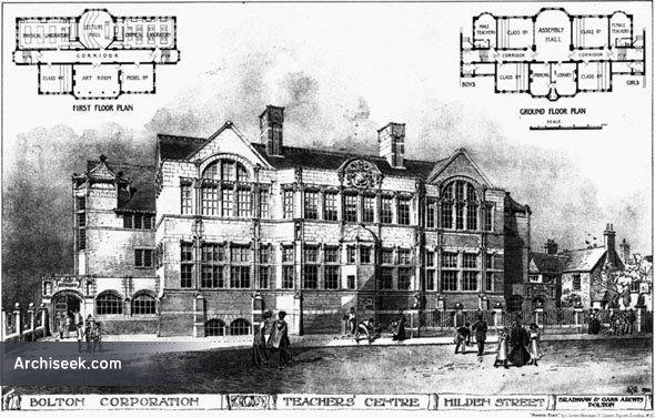 1906 – Teachers Centre, Hilden Street, Bolton, Lancashire
