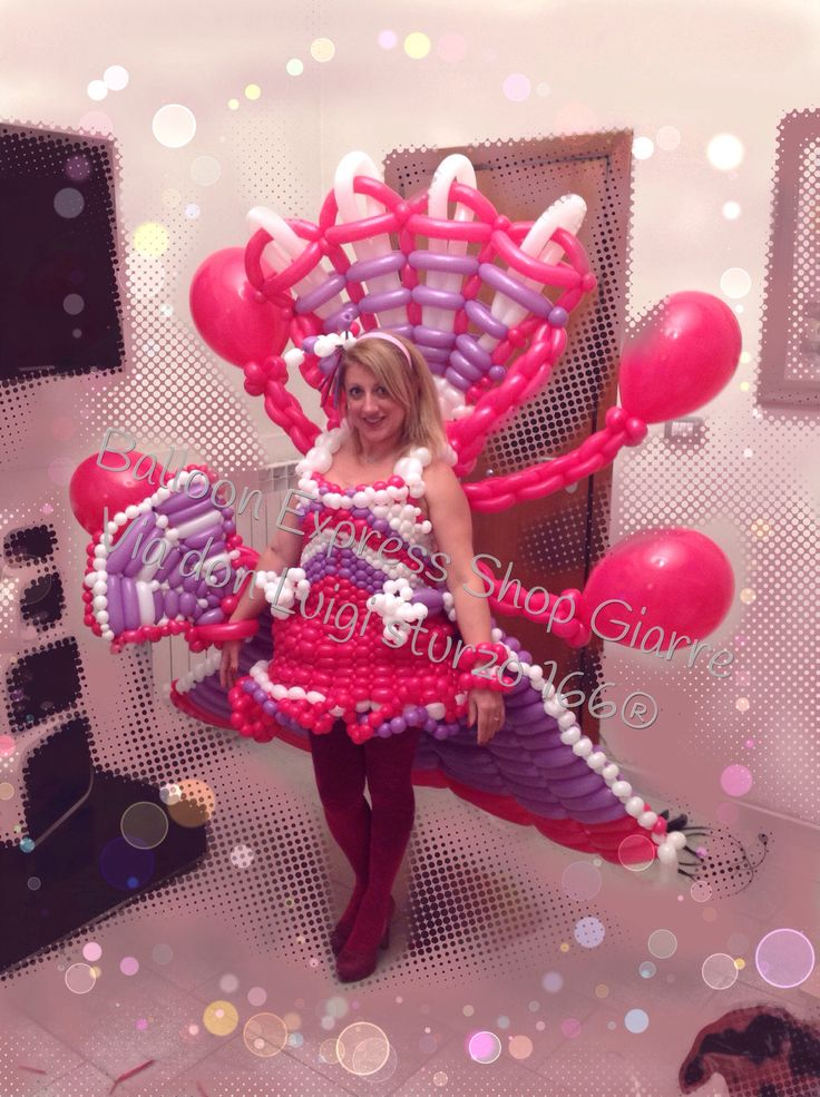 Ventaglio Balloon Dress