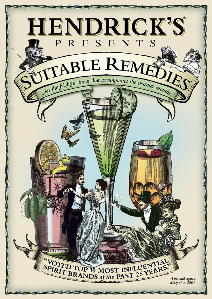 Hendrick's Gin Summer Cocktail Book & Recipes