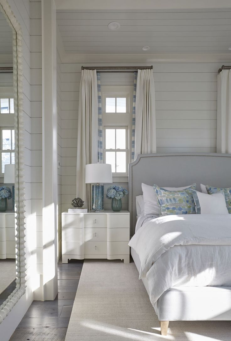 Beach cottage master bedroom - Florida Beach House With New Coastal Design Ideas Home Bunch Interior Design Ideas