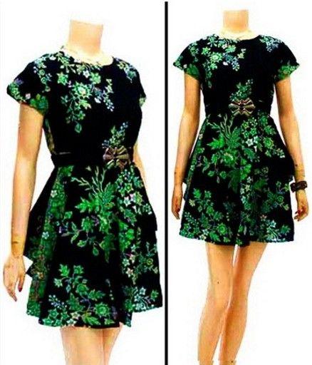 dress batik db039